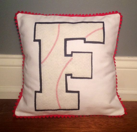 Personalized Baseball Softball  Initial  by TossandThrows on Etsy, $29.99