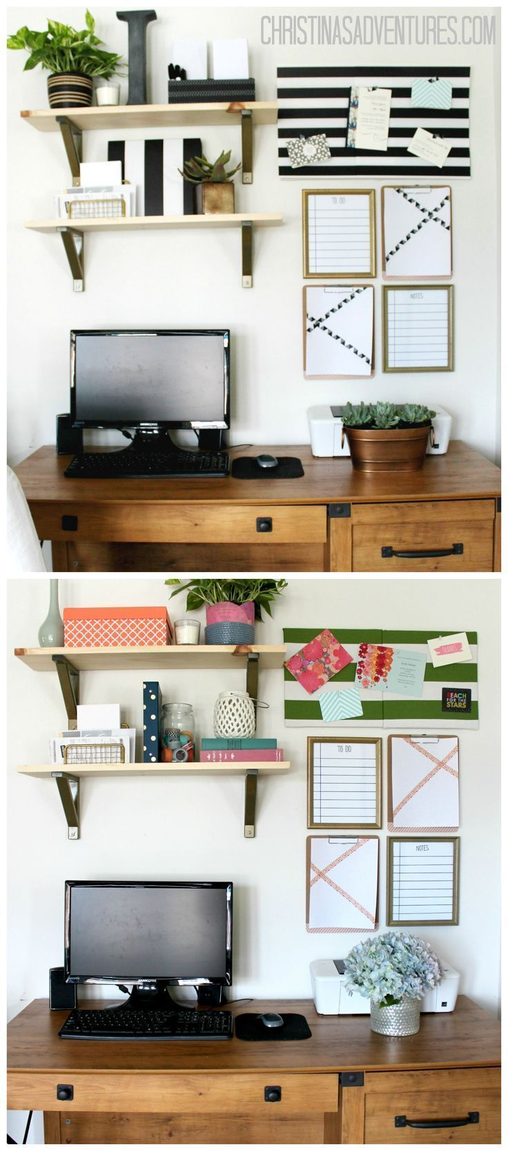 Small home office decorating ideas feminine home offices