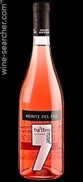 Monte del Fra Frattino Rose Vino Frizzante Veneto IGT, Italy