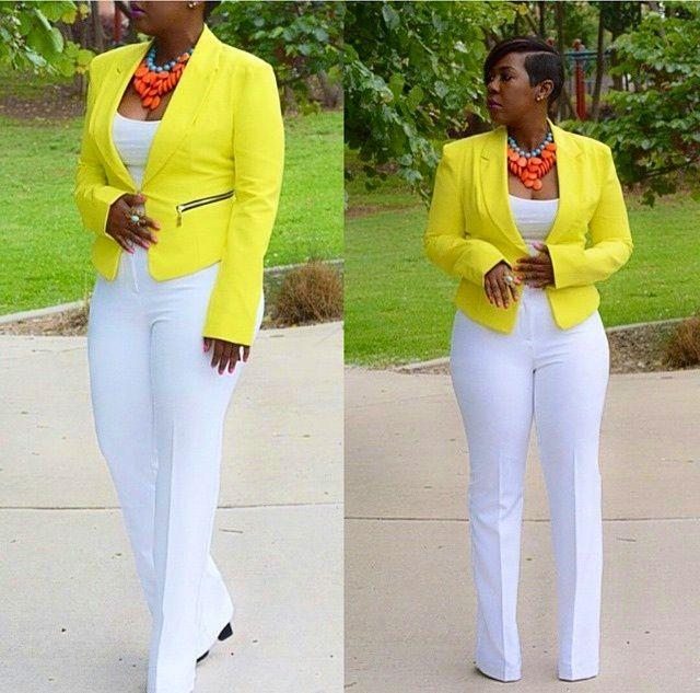 The 25 Best Women S Bottoms Ideas On Pinterest: 25+ Best Ideas About Yellow Blazer Outfits On Pinterest