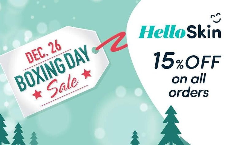 HelloBoxingDay! 15% off on all orders only today! #psoriasis #helloskinstore #pso #psoriasisuk #skincare #goodbyepsoriasis #boxingday #sale