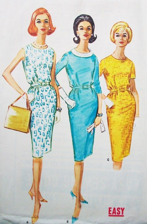 1960s McCall's Bust 32 Size 12  5921 Sewing Pattern by ThingsFound, $6.00: Garment Sewing, Mccall Bust, 12 5921, 1960S Mccall, 32 Size, Sewing Challenges, Bust 32, Sewing Patterns, 5921 Sewing