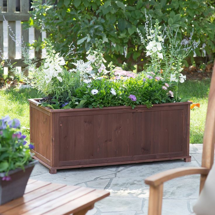 25 Best Ideas About Raised Planter Boxes On Pinterest