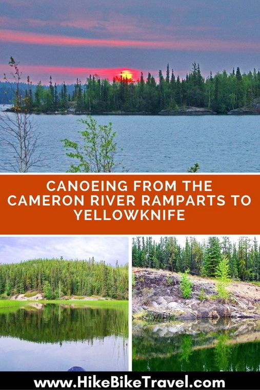Canoeing the Cameron River Ramparts to Yellowknife, Northwest Territories