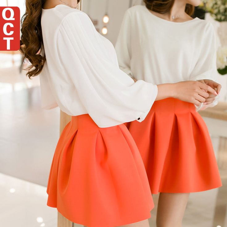 Cheap Skirts on Sale at Bargain Price, Buy Quality skirt pant, skirt silk, skirt white from China skirt pant Suppliers at Aliexpress.com:1,Dresses Length:Above Knee, Mini 2,Gender:Women 3,Pattern Type:Solid 4,Silhouette:Pleated 5,Decoration:Ruffles