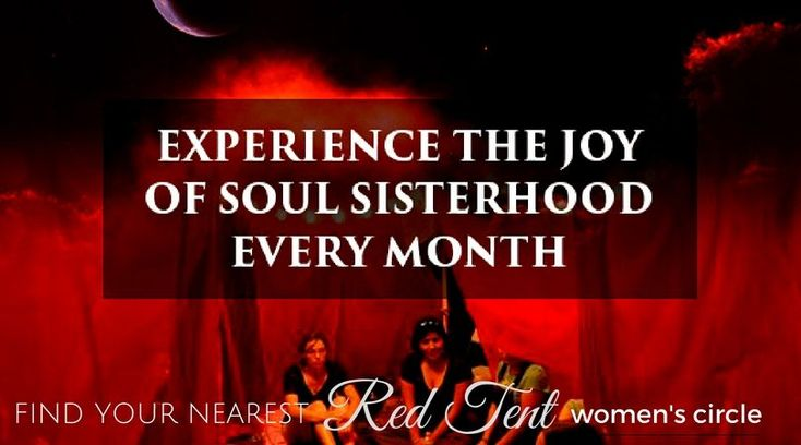 Looking for a place where you can reconnect with your innermost thoughts & feelings to identify your needs & get soul sisterhood support every month?  Here's the Red Tent directory of women's new moon sharing circles happening all over the world being facilitated by those who have completed my training course:  https://themoonwoman.com/red-tent-directory/  To find out more about the course click here: https://themoonwoman.com/red-tent-online-course/