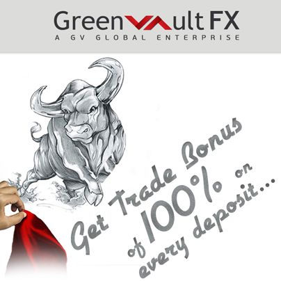 #Trade Bonus: Acquire the bonus amount up to 100% for every deposit.  This bonus can be used only for #trading purpose.