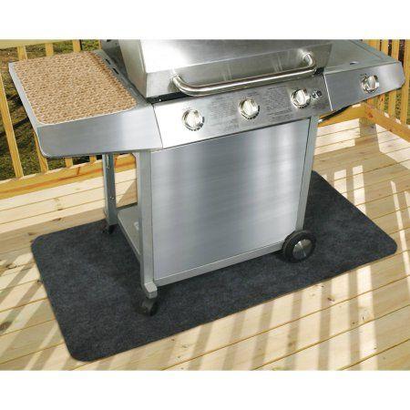 Expert Grill Patio Gas Grill Mat, Black