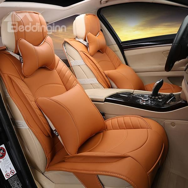 Charming The Durable Leather Car Seat Covers