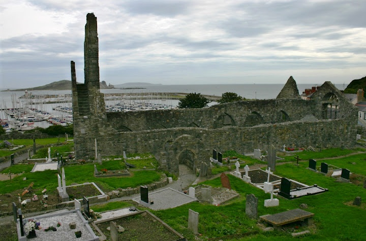 South of Dublin, Ireland, looking toward English coast   © Marsha K. Russell: English Coast, Architecture Ruins, Dublin Ireland