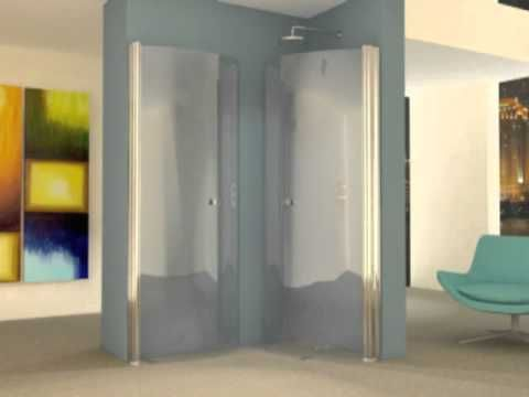 UniArc 1400 x 850 hinged wet room shower screens.mp4