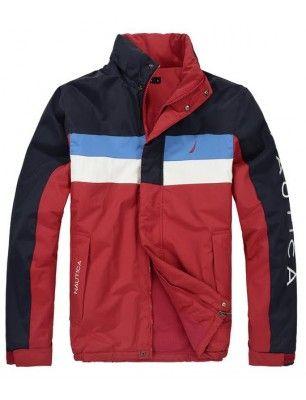 Nautica chaqueta de hombre | Navy-red-blue