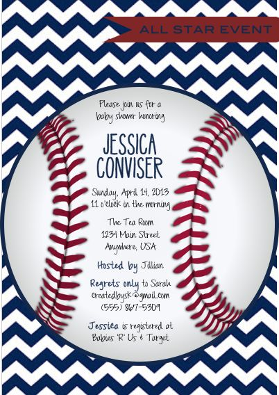 Best 25+ Baseball invitations ideas on Pinterest | Baseball party ...