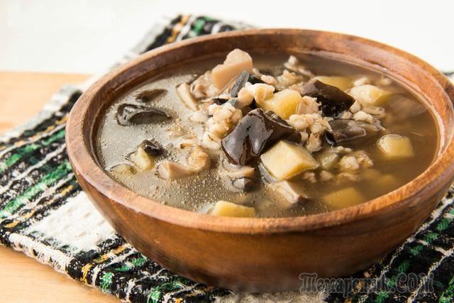 Рецепты грибного супа