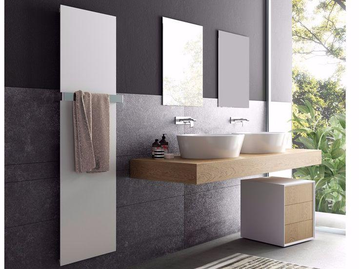 Radiateur décoratif à panneau à eau chaude vertical FRAME VT by CORDIVARI design…