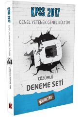 2017 KPSS Genel Yetenek Genel Kültür Çözümlü 10 Deneme Seti Kurultay Yayınları
