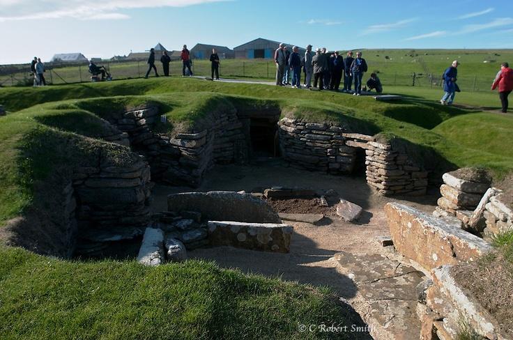 Kirkwall, Orkney Islands, Scotland - Skara Brae archeological site