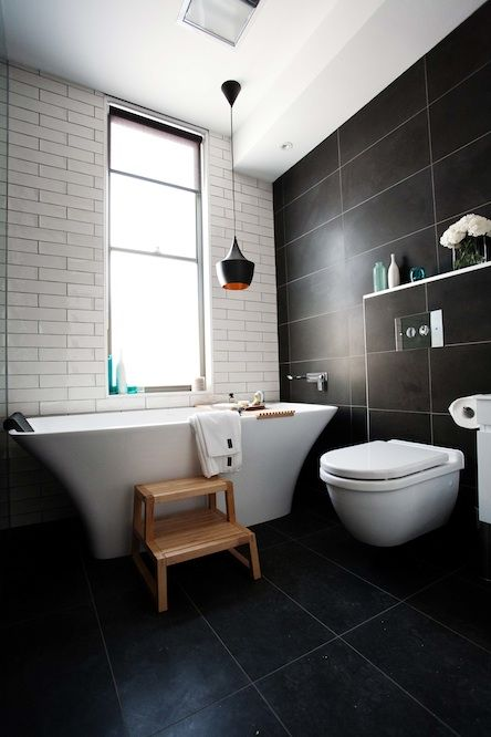Dani & Dan's bathroom #TheBlock #Beacon #Lighting #HomeHub