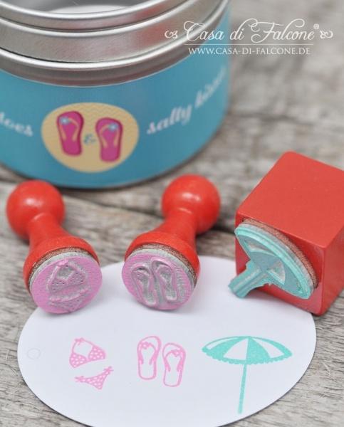 Mini Stempel Set Beach life  mini stamp