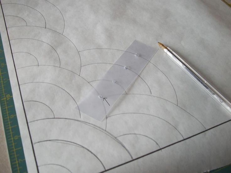 Quilty Folk: Part #1: Learning How to Make the Baptist Fan Pattern for Hand Quilting