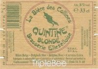 Label van Quintine Blonde