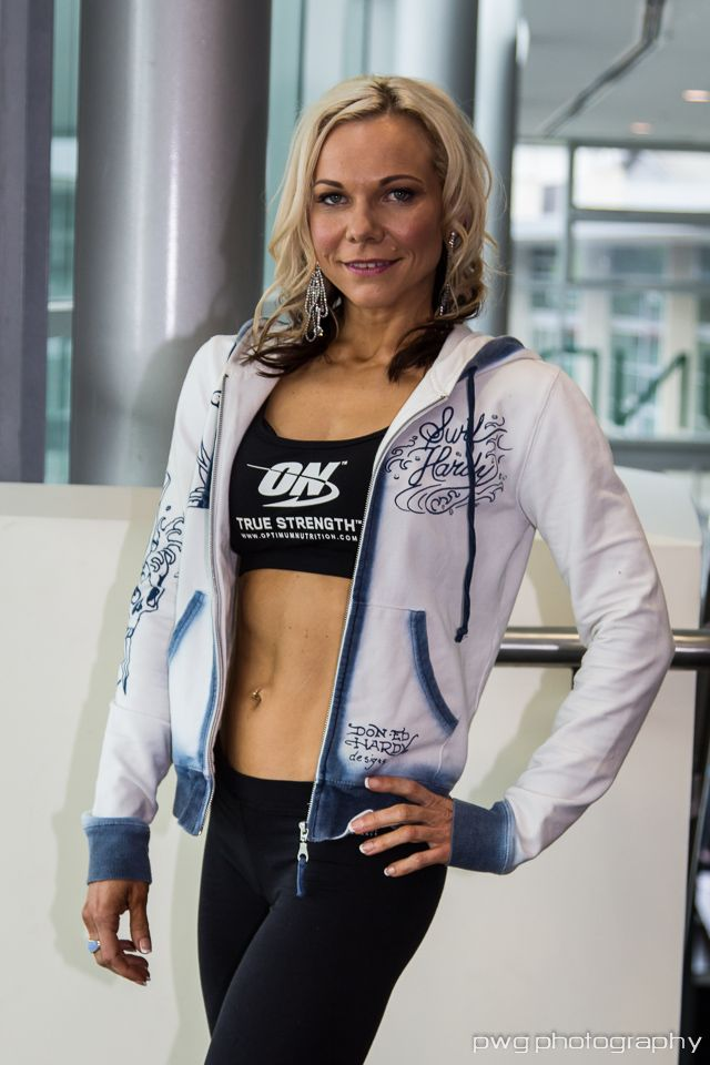 Inspiring People: Lucia Oles - Optimum Nutrition Sponsored Fitness Competitor