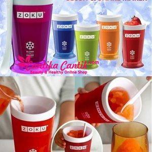 Gelas Zoku Slush And Shake Maker. Dapat mempertahankan dingin minuman lebih lama dari gelas biasa. **Selengkapnya: http://c-cantik.me/s4yj **Order Cepat: http://m.me/cantikacantik.id  KONTAK KAMI DI - PIN BBM 2A8FB6B4 - SMS / WA 081220616123 Untuk Fast Response