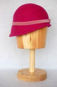 Gorra de fieltro buganbilla Luisa Gala