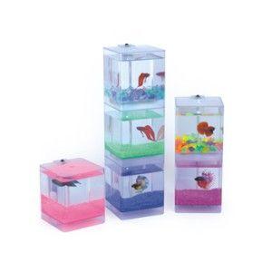 Unique Betta Fish Bowls | Aqua Cube Betta Aquarium | Shop pets, family | Kaboodle
