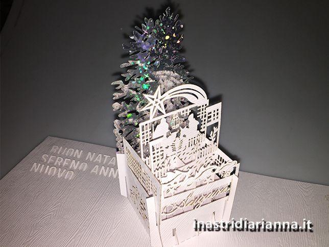 christamo card pop-up Creazione popup Auguri di Natale 2016 ai clienti Enter Print