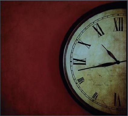 El tiempo vuela.
