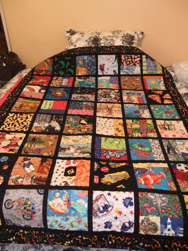 "WOW- I LOVE this one! An ""I Spy"" quilt."