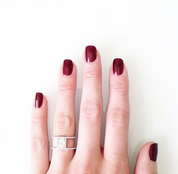9 Fashion Bloggers with the Prettiest Engagement Rings via @WhoWhatWear