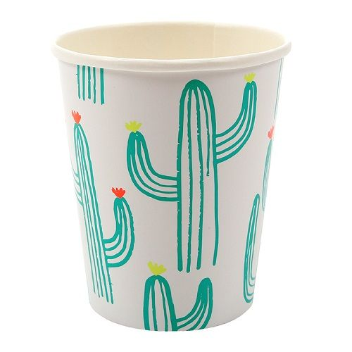 Cactus Cups For Cool Kids Parties | Luxury Brand Party Supplies UK | Meri Meri