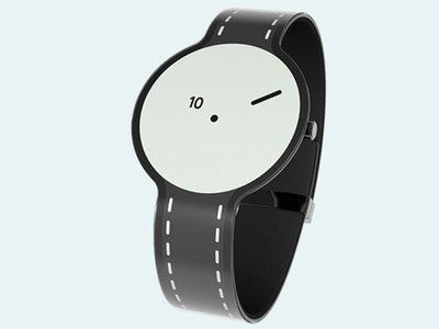 Sony created experimental e-paper watch #Style #Technology #Experimental