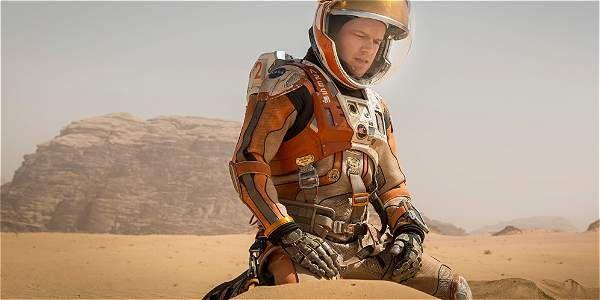 Escena de 'Misión Rescate', la nueva película protagonizada por Matt Damon.