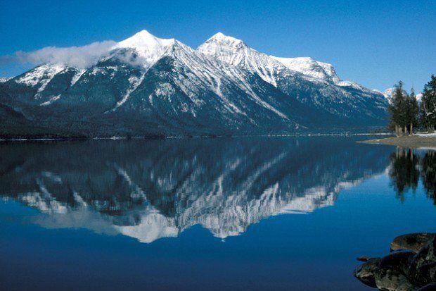 Glacier National Park    Ľadovcový národný park v Montane do roku 2020 úplne bez ľadu. Môžu za to klimatické zmeny.