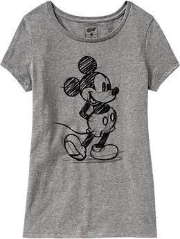Women's Disney© Mickey Mouse Tees | Old Navy