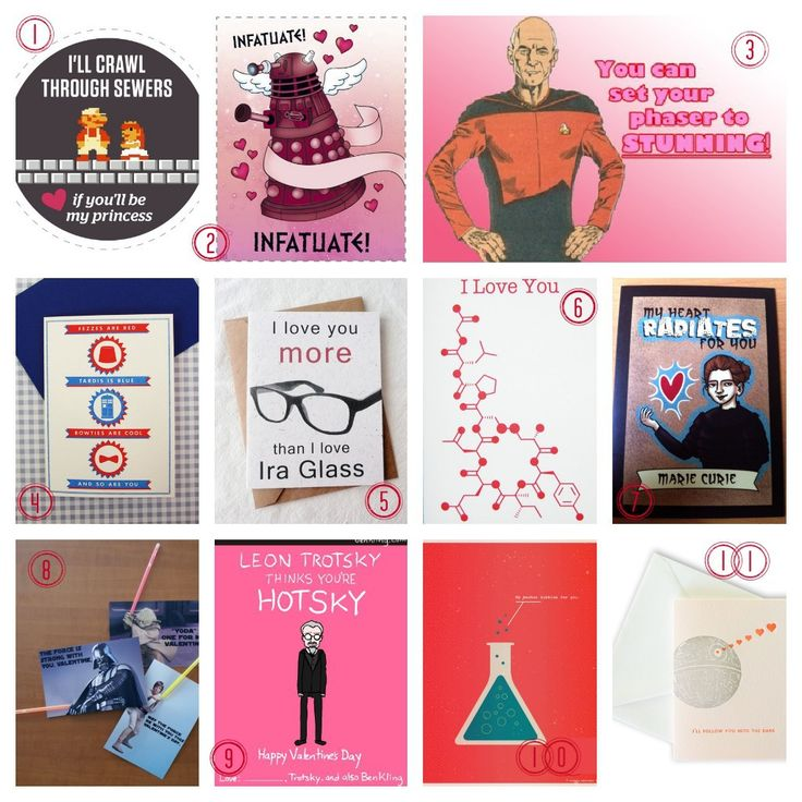 64 best Nerdy Valentines images on Pinterest  Valentine day cards