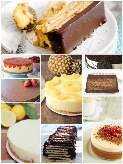 9 tartas fáciles. Tartas fáciles sin horno