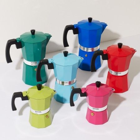 Our Pantone Coffee Makers - all together now!