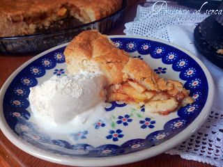 Apple pie / Szarlotka na półkruchym cieście