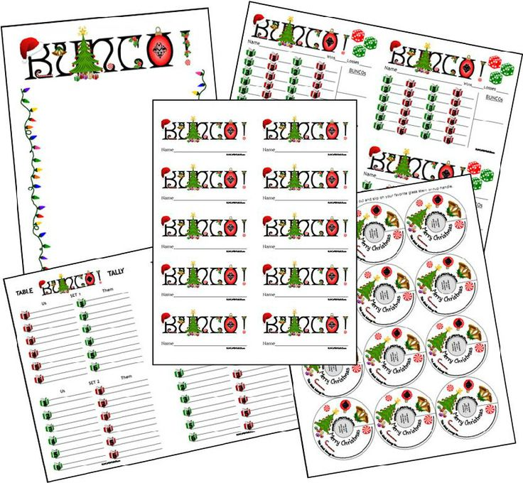 28 best Bunco Inspirations images on Pinterest Bunco ideas - bunco score sheets template