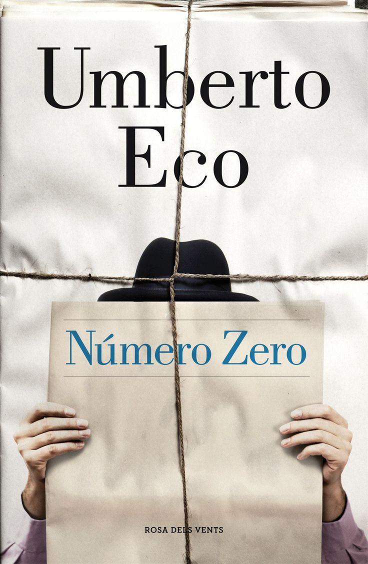 Número Zero. Design by Nora Grosse, Penguin Random House Grupo Editorial.