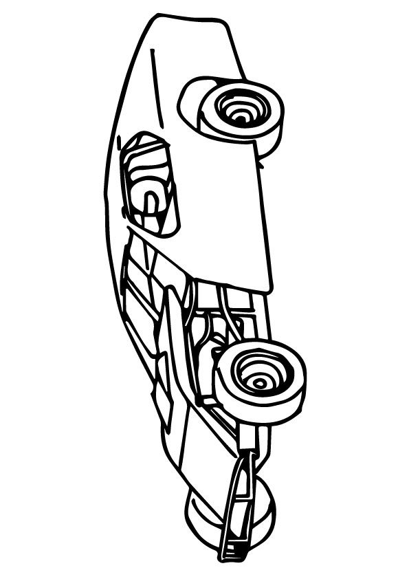 The Openwheel Carmuscle Coloring Pages Color Art