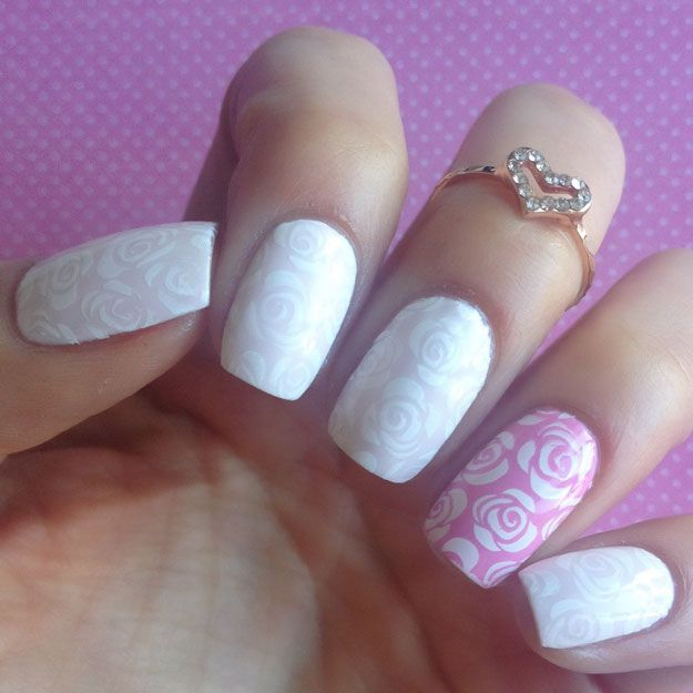 Pro Nail Designs: 27 Best Images About Bridal/Wedding Nails On Pinterest