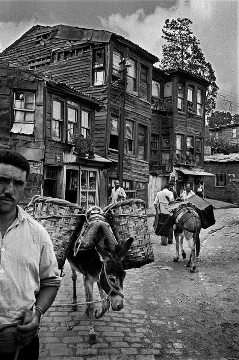 Street in Uskudar. 1969. photo by Ara Guler