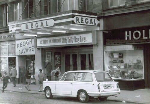 Regal Cinema, Greenock. (1968)