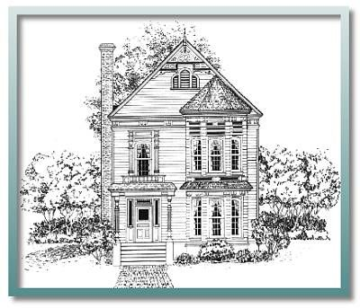244 best house mix images on pinterest houses for sales for Authentic historical house plans