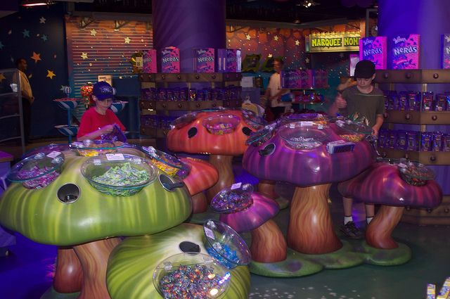 Willy Wonka's Candy Store   Flickr - Photo Sharing!